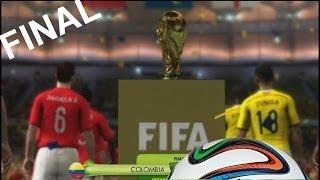 2014 Fifa World Cup - La Gran Final Mundial Brasil 2014 Celebración, Goles y Premios Gameplay Xbox