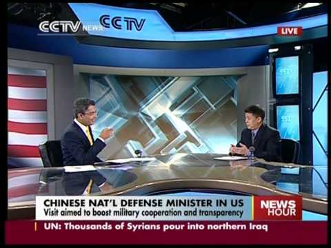 watch Analysis: China's Defense Minister in US