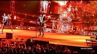HD KISS Live in Friends Arena Stockholm 2013 + Gene at Hard Rock Cafe Stockholm