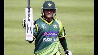 Mohammad Hafeez scored his fifth ODI century Pakistan vs Irland 23 Mai 2013