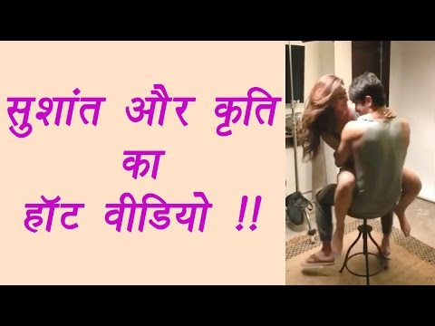 Xxx Mp4 Sushant Singh Rajput And Kriti Sanon S Hot And Intimate Video Watch FilmiBeat 3gp Sex
