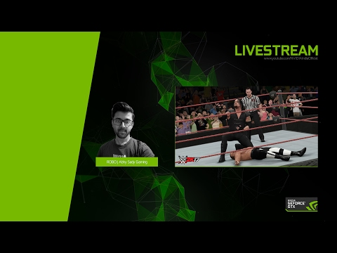 WWE 2K17 Livestream with Robo