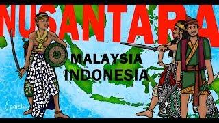 Indonesia Malaysia History of Nusantara explained in 9 minutes