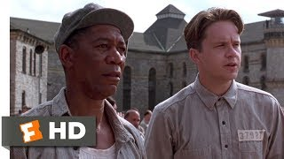 The Shawshank Redemption (1994) - Andy Meets Red Scene (1/10) | Movieclips