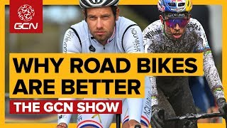 4 Reasons Why Road Bikes Are Better Than Gravel Bikes | The GCN Show Ep. 296