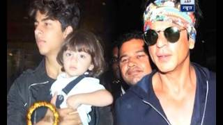 Aryan, AbRam to get punished for harming any woman, says Shah Rukh Khan
