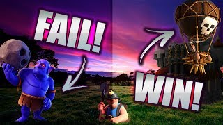 CLASH OF CLANS TH11: BOWLERS = FAIL. LOONS = WIN.