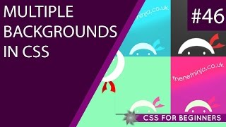 CSS Tutorial For Beginners 46 - Multiple Backgrounds