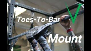 Invictus Gymnastics - Toes-To-Bar Mount Tutorial