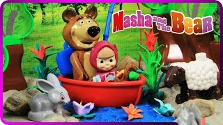♥ Masha and the Bear (Маша и Медведь) Vacation Adventure (Episode 11)