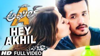 Hey Akhil Full Video Song || Akhil - The Power Of Jua || Akhil Akkineni, Sayesha