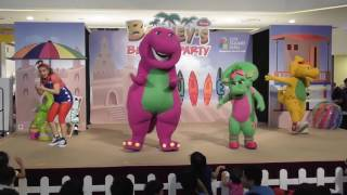 Barney Beach Party Live! at City Square Mall, Singapore