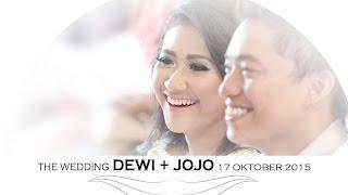 WEDDING SINEMATIK | WEDDING CLIP DEWI + JOJO | PERNIKAHAN INDONESIA KRISTIANI DI JOGJA