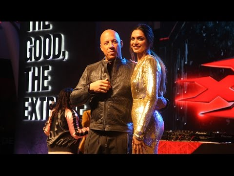 Xxx Mp4 XXx The Return Of Xander Cage Movie Promotion With Vin Diesel Deepika Padukone 3gp Sex