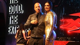 xXx: The Return of Xander Cage Movie Promotion With Vin Diesel, Deepika Padukone