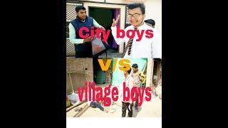 City boys V/S Village boys comedy    NadaN EngineerS    funny video