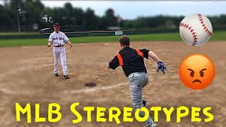 MLB BASEBALL STEREOTYPES | MCC TrickShots (Inspired by Dude Perfect)