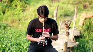 National Anthem Of Bangladesh(Flute& Guitar covered By Rajesh mojumder)