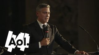 George Clooney Declares His Love for Fiancee