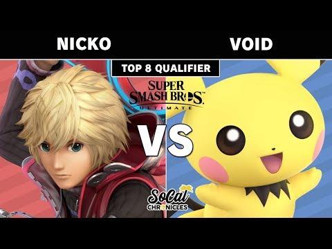Xxx Mp4 Smash Ultimate Tournament Nicko Shulk Vs CLG VoiD Pichu W Quarters SoCal Chronicles 3gp Sex
