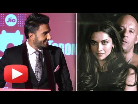 (VIDEO) Ranveer Singh Promotes Deepika Padukone's XXX - The Return Of Xander Cage