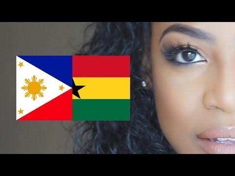 Mixed Girl Tag | Filipino Ghanaian | Asian African |Black History Month