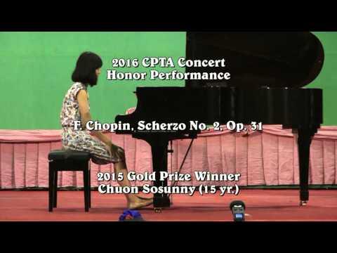 Chuon Sosunny plays in 2016 CPTA Concert (Mozart, Chopin)
