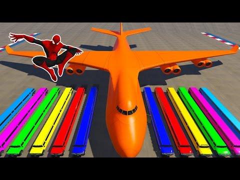 Xxx Mp4 Spiderman Longest Limousine Cars Transportation On Biggest Airplane Cartoon For Kids Nursery Rhymes 3gp Sex