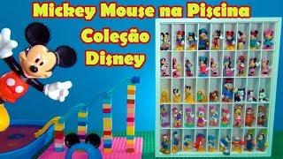 Mickey Mouse na Piscina Coleção Disney da Tia Cris  #MickeyMouse #MinnieMouse