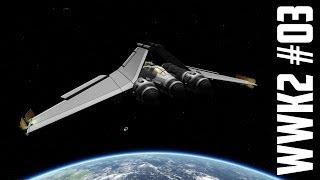 World War K 2 #03 SSTO Heavy Fighter - Kerbal Space Program with Mods