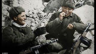 Battle of Stalingrad Color Footage [1942-1943]   HD WW2