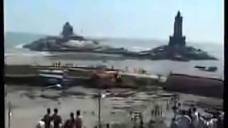 tsunami @ KanyaKumari- a rare video ...from 3.40 minutes starts the horrible scene.