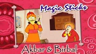 Akbar Birbal Animated Moral Stories || Magic Sticks || Hindi Vol 1
