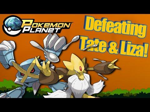 Pokemon Planet - Defeating Tate and Liza!