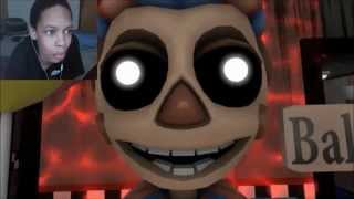 [FNAF SFM] Five Funky Nights At Freddy's REACTION | INHALE MY DONG