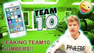 Leaking Team 10 Phone Numbers