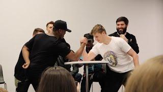KSI vs W2S *EPIC* SIDEMEN ARM WRESTLING CHALLENGE!