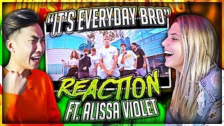 Reacting to Jake Paul's Song With His EX Girlfriend (Alissa Violet)