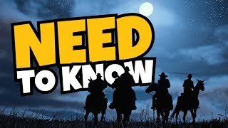 Red Dead Redemption 2 - Absolutely EVERYTHING YOU NEED TO KNOW!