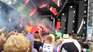 Knife Party - Destroy Them With Lazers LIVE @ Weekend Festival 2014