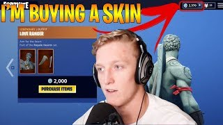 TFUE SAYS HE WILL BUY SKINS IF EPIC GAMES CHANGES! (Fortnite Stream Highlights)