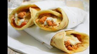 Chicken Shawarma | Chicken Roll | At Home | Tasty Chicken Recipe