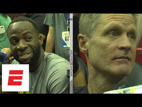 Draymond Green and Steve Kerr react to LeBron James recalling play with photographic memory ESPN