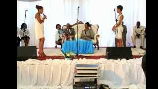 Ntsiko and Londiwe Shandu singing YOU ARE MY KING BY J SWAGGART