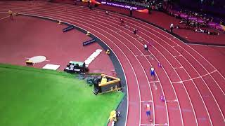 4x100m Relay Men Heat 1 IAAF World Champs London 2017