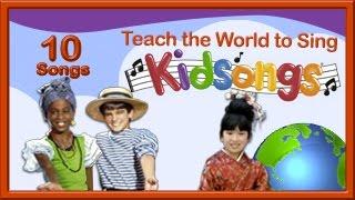 I'd Like To Teach the World to Sing | Kidsongs | Nursery Rhyme Songs | London Bridge | Kid |PBS Kids