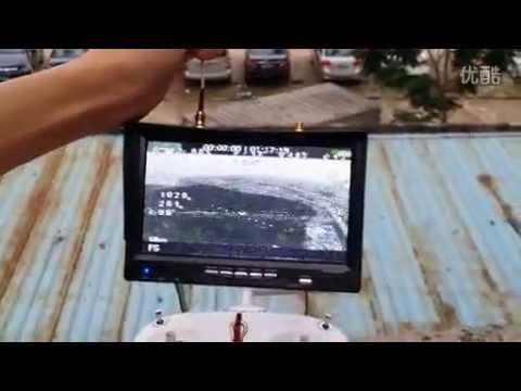DALRC 14dbi 平板天線 正版與仿品測試影片  400mw 5·8G 發射加三葉草/ DAL RC 蒼蠅拍天線
