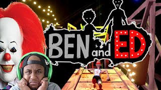 THE SCARY CLOWN MUST DIE!   Ben and Ed Gameplay #2