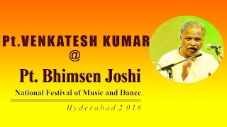 Pt.Venkatesh Kumar on Hindustani Classical Vocals at Pt. Bhimsen Joshi National Festival