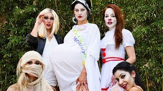 The Real Housewives of Halloween | Hannah Stocking
